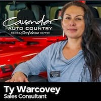 Ty Warcovey at Cavender Chrysler Jeep Dodge RAM