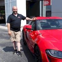 Tim Everson at Waite Toyota