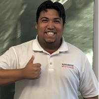 Christopher Rivera at Headquarter Mazda