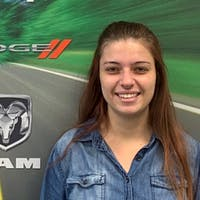 Ashley Weiss at Ray Chrysler Dodge Jeep Ram