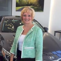 Marla Hirt at Halleen Kia of Sandusky