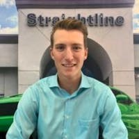 Tyler Young at Straightline Chrysler Dodge Jeep Ram