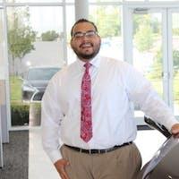 Adrian Galeas at Lexus of Orange County