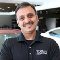Raja Venkatesan at Nalley Nissan of Cumming