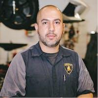 Angel Hernandez at Lamborghini Paramus - Service Center