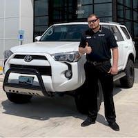 Diego Jimenez at Toyota of Cedar Park
