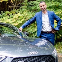 Mike Van Houdt at Audi London