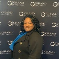 CARLINA JONES, B.S. at Grand Motorcars