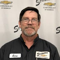 Eugene Peabody at Scranton Chevrolet of Norwich - Service Center