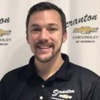 David Tignonsini at Scranton Chevrolet of Norwich