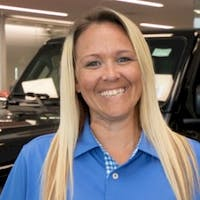 Sarah Vacek at Jim Glover Dodge Chrysler Jeep Ram Fiat