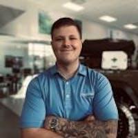 Korey Ellison at Jim Glover Dodge Chrysler Jeep Ram Fiat