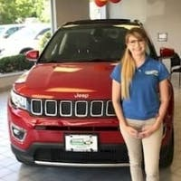 Juliana Ferrara at Station Chrysler Jeep of Mansfield