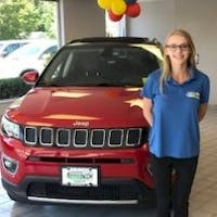 Paige O'Sullivan at Station Chrysler Jeep of Mansfield