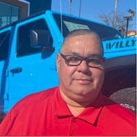 Joel De La Rosa at Courtesy Jeep