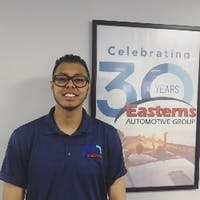 Carlos Ascanio at Easterns Automotive Group of Alexandria