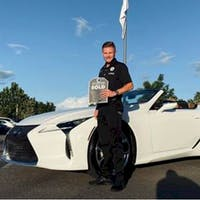 Jonathan Nicoletti at Lexus of Wesley Chapel