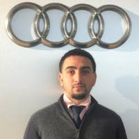 Will Janmoradi at Audi Fremont