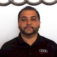 Ebrahim Rahimi at Audi Fremont