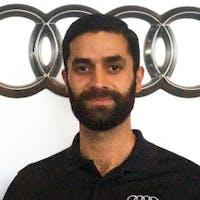 Abdul Zada at Audi Fremont