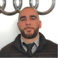 Najeem Mirzada  at Audi Fremont
