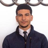 Alex Mahmoud at Audi Fremont