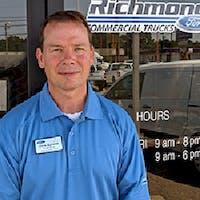 Chris  Burnette at Richmond Ford Lincoln