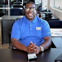 Antwoine Perkins at Budget Car and Truck Sales of Prattville