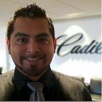 Marcelino Alfaro at Rizza Cadillac Buick GMC