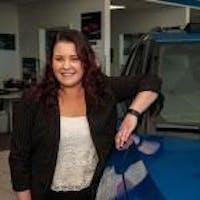 Amber Slusher at SVG Chevrolet