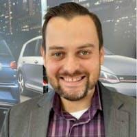 James Finbow at Lauria Volkswagen
