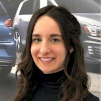 Gabriella Ninivaggi at Lauria Volkswagen