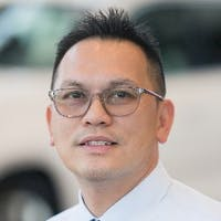 Marc Hung at Mercedes-Benz of Arcadia