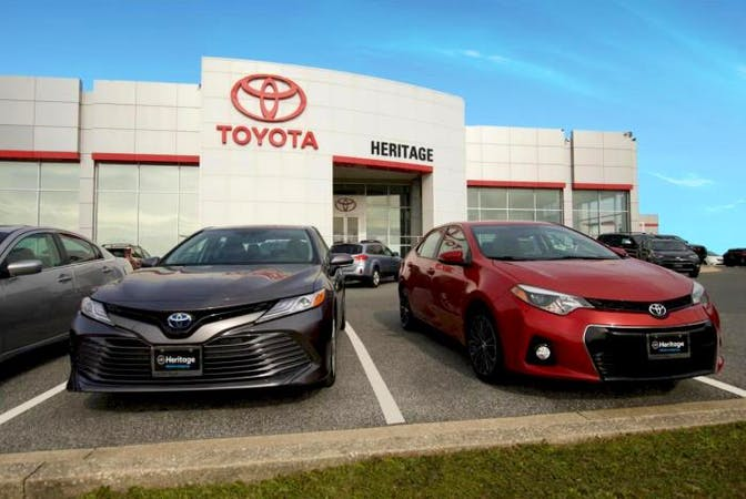 Heritage Toyota Catonsville, Baltimore, MD, 21228