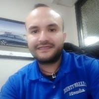 Manny Morales  at Rusty Wallis Honda
