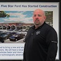 Grady Moore at Sam Pack's Five Star Ford Carrollton