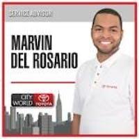 Marvin Del Rosario at City World Toyota - Service Center