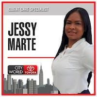 Jessy Marte at City World Toyota