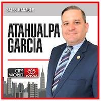 Atahualpa  Garcia  at City World Toyota