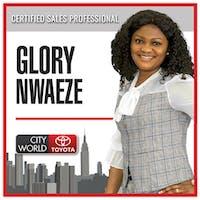 Glory Nwaeze at City World Toyota