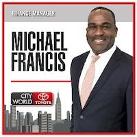 Michael  Francis at City World Toyota