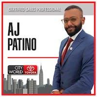 AJ  Patino  at City World Toyota
