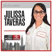 Julissa Taveras at City World Toyota