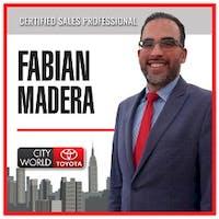 Fabian Madera at City World Toyota