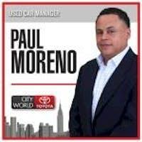 Paul Moreno at City World Toyota