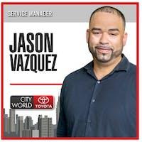 Jason  Vazquez  at City World Toyota - Service Center