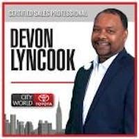 Devon  Lyncook at City World Toyota