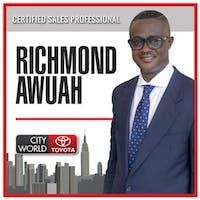 Richmond  Awuah at City World Toyota