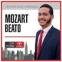 Mozart Beato at City World Toyota