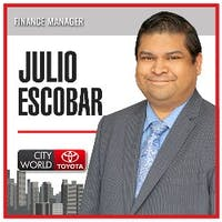 Julio Escobar at City World Toyota